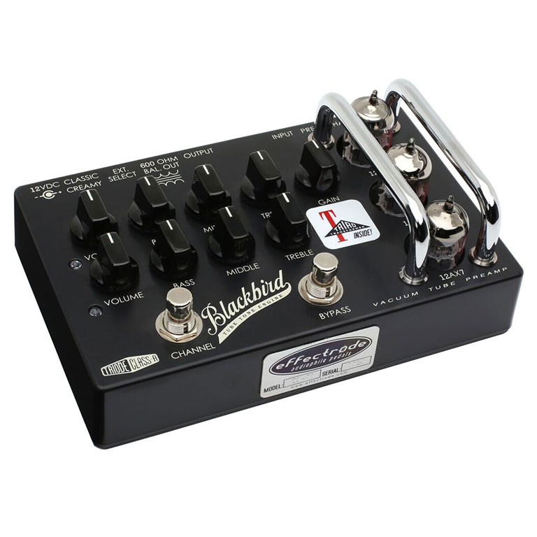 Effectrode Blackbird Preamp Valve guitar effects pedal