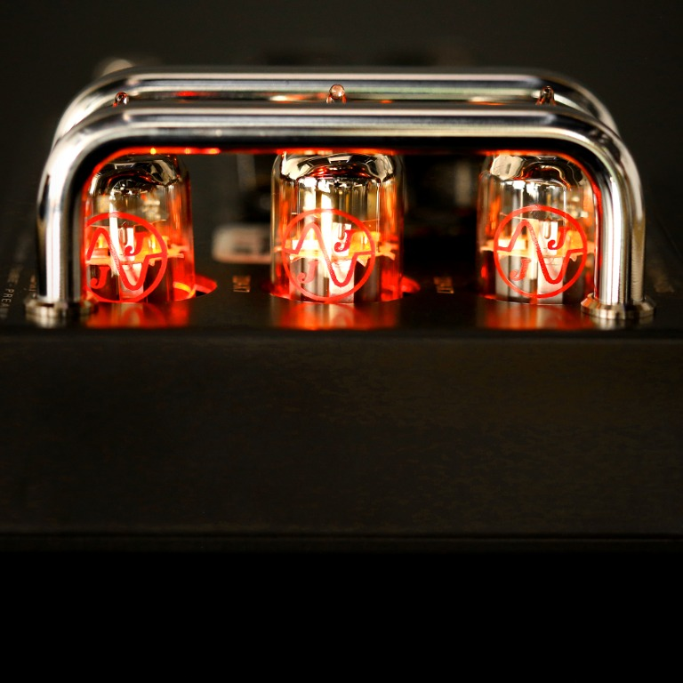 Blackbird preamp glowing tubes