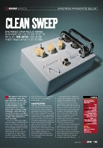 Guitar Buyer Clean Sweep Issue 70, June 2007, pp 105-106