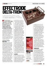 Guitar Buyer Effectrode Delta-Trem Issue 96, August 2009, pp 95loru