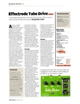 11) Guitarist Effectrode Tube Drive Issue 323, December 2009, pp 164