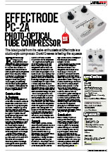 14) Guitar Buyer Effectrode PC-2A Compressor Issue 110, October 2010, pp 81