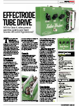 12) Guitar Buyer Effectrode Tube Drive Issue 101, January 2010, pp 85