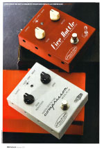 16) Guitarist Effectrode Fire Bottle Magnetic Pickup Booster and PC-2A Compressor Issue 337, January 2011, pp118-120