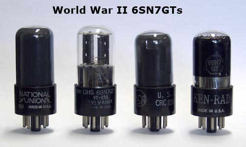 The 6SN7GT – the best general-purpose dual triode? - Effectrode