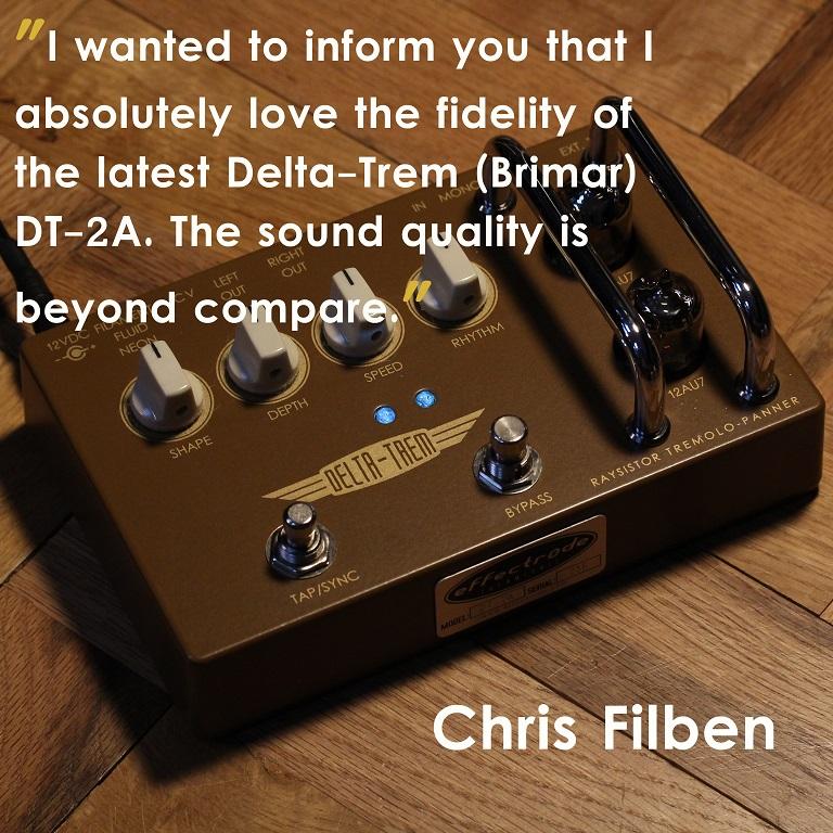 Delta-Trem Guitar pedal