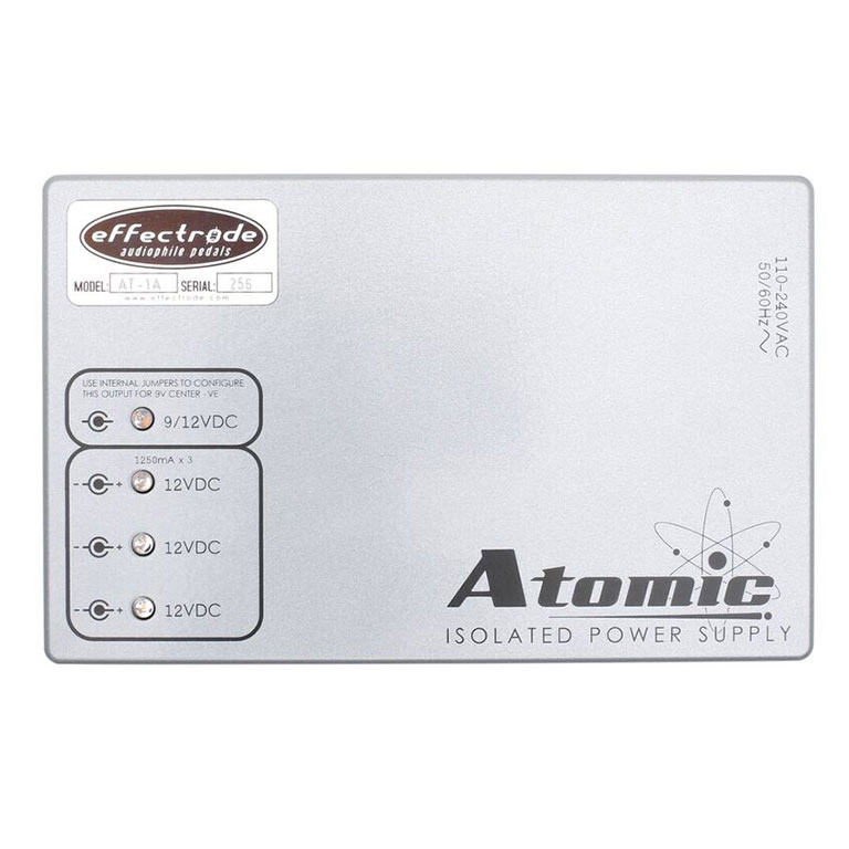 Atomic Power supply for effects pedals