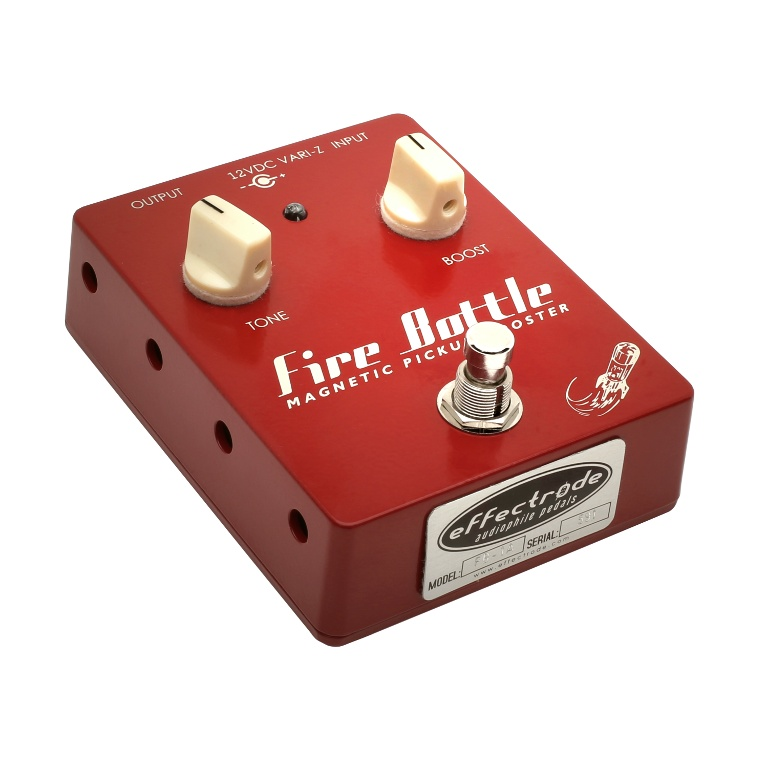 Fire Bottle booster effects pedal