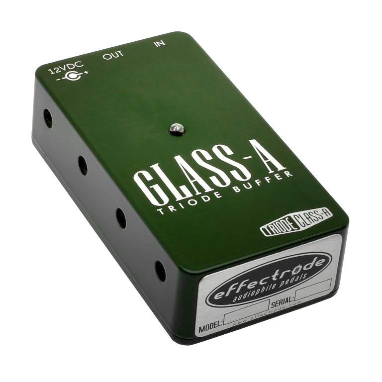 Glass-A buffer effects pedal