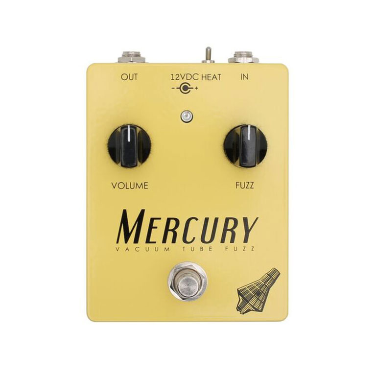 Effectrode Mercury Fuzz Tube effects pedal