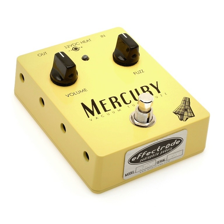 Mercury fuzz effects pedal