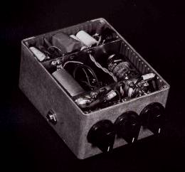 Effectrode's first guitar pedal design
