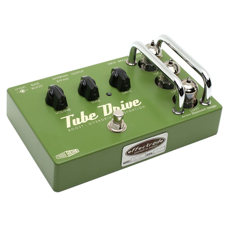 Tube Drive Overdrive guitar effects pedal