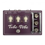Top view of Effectrode Tube-Vibe Guitar pedal