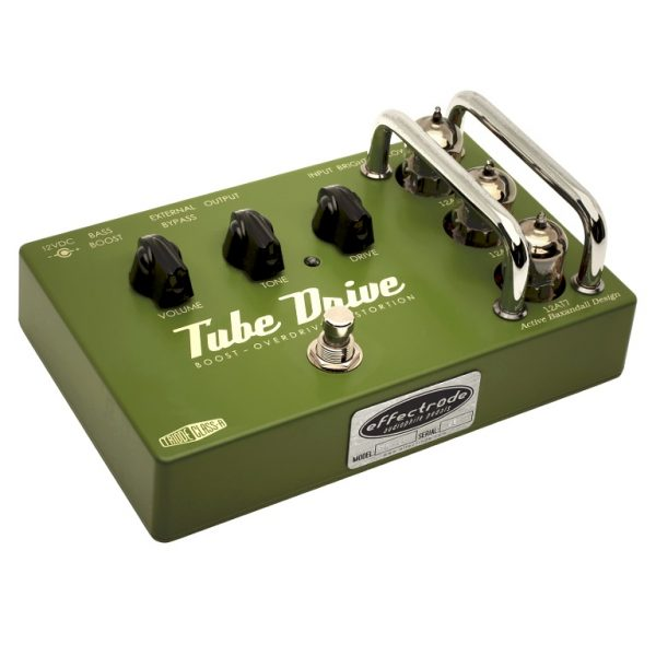 Effectrode Tube Drive overdrive-distortion effects pedal