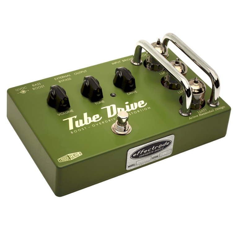 Tube Drive overdrive-distortion effects pedal