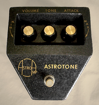 Astrotone fuzz effects pedal