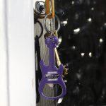 Guitar shaped keychain