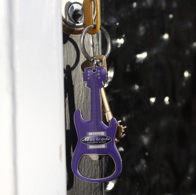 Effectrode Guitar shaped keychain