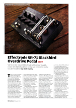 Guitarist Magazine SR-71 Blackbird Preamp Review Feb 2013