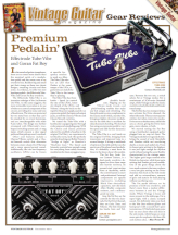 Vintage Guitar Magazine Tube-Vibe December 2012