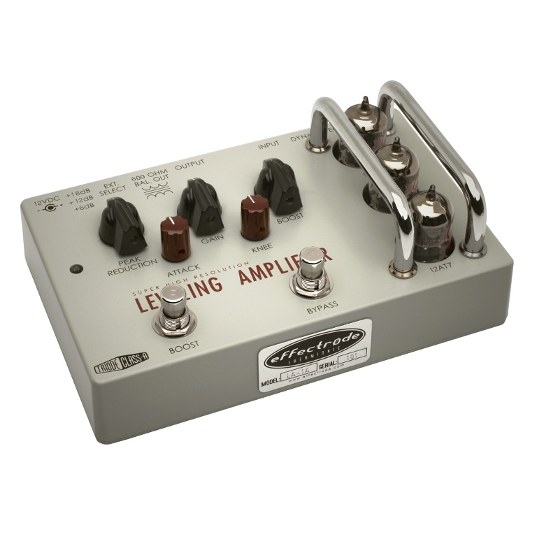 Leveling Amplifier effects pedal
