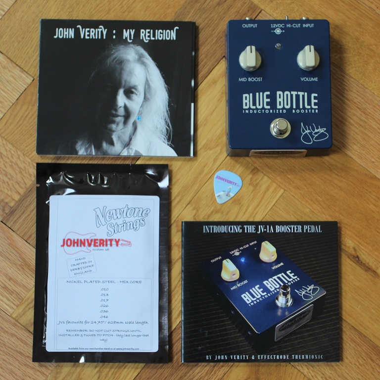 Blue Bottle Guitar pedal special edition pack