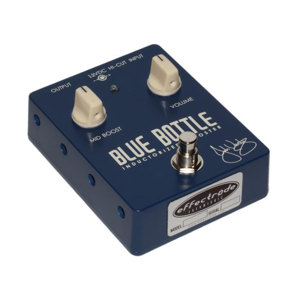 Blue Bottle Guitar pedal