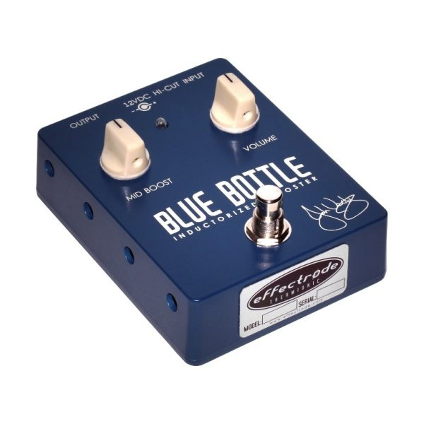 Blue Bottle mid-booster effects pedal