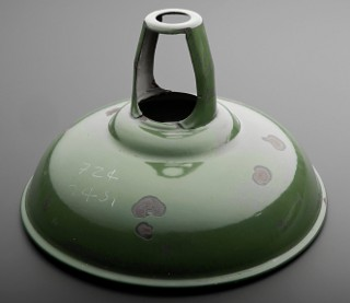"""Coolicon"" green lampshade"