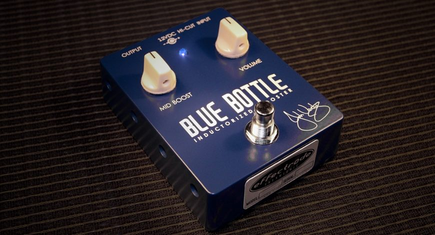 Blue Bottle booster pedal