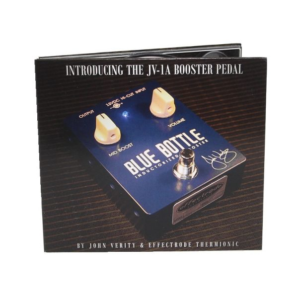 CD with Blue Bottle Booster pedal on cover