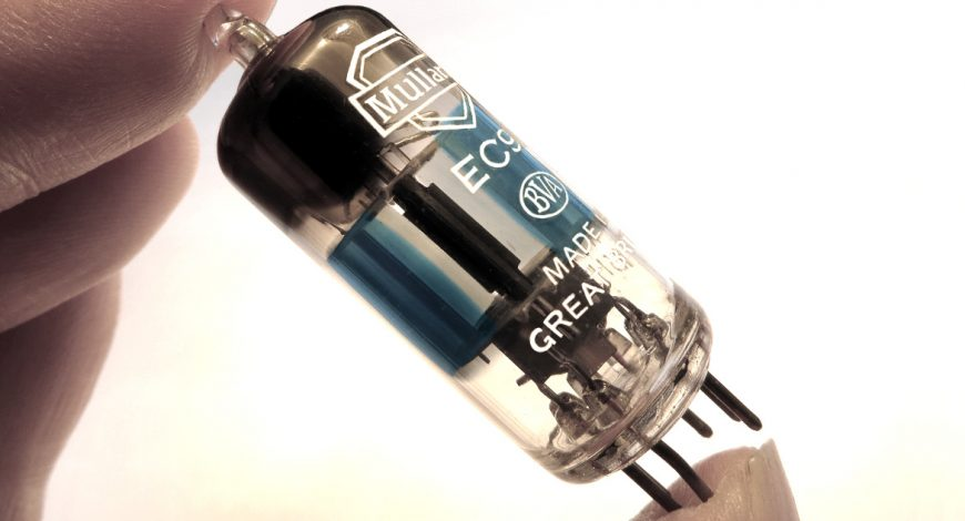Mullard EC91 tube