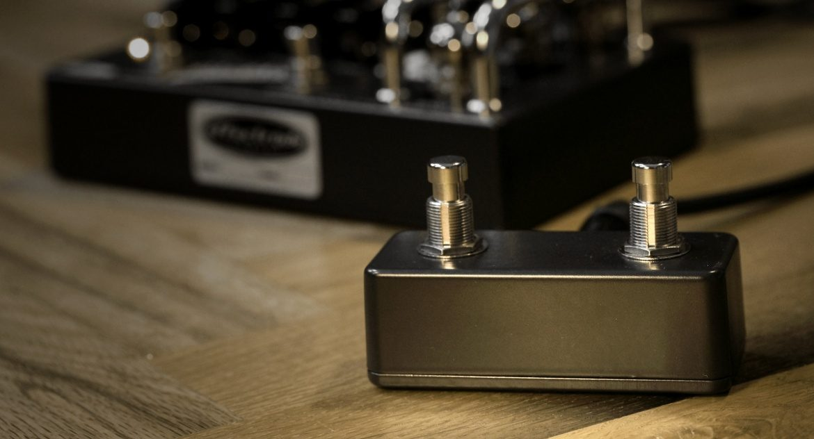 Blackbird vacuum tube preamp external footswitch