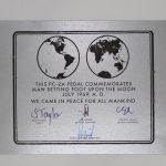 A PC-2A Commemorative certificate