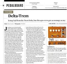 28) Guitarist Magazine Issue 450 Delta-Trem Sept 2019
