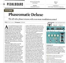 29) Guitarist Magazine Issue 451 Phaseomatic Oct 2019