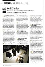 30) Guitarist Magazine Issue 455 Pedalboard Tonemakers Feb 2020