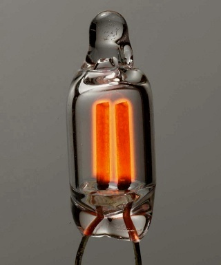 Type NE-2 neon glow lamp