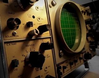 Solartron oscilloscope