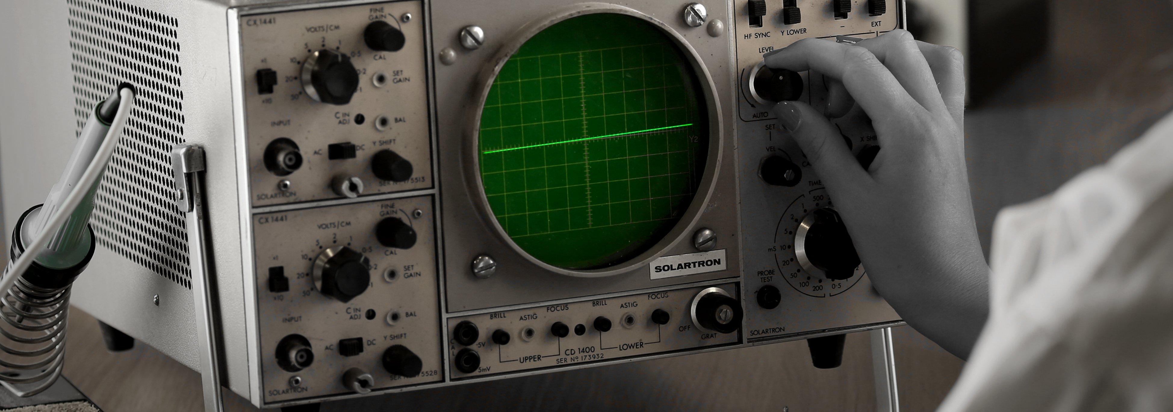 Solatron oscilloscope